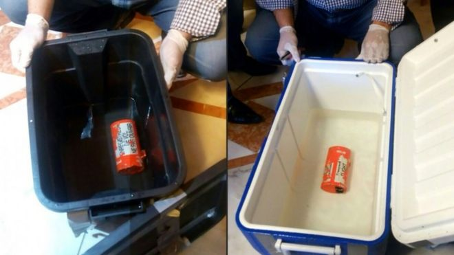 Flight recorders, images from Egyptian officials