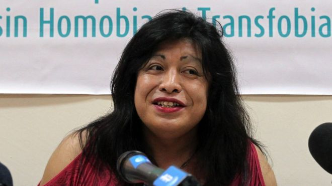 Diana Sacayán, trans gender activist was murdered in 2015. (Photo Courtesy of BBC)