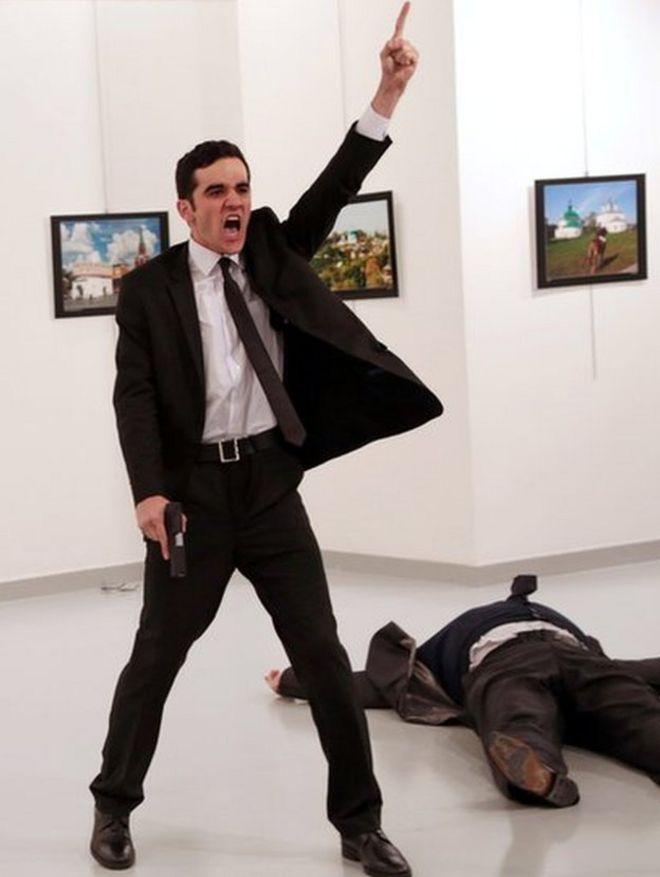 момент убийства российского посла