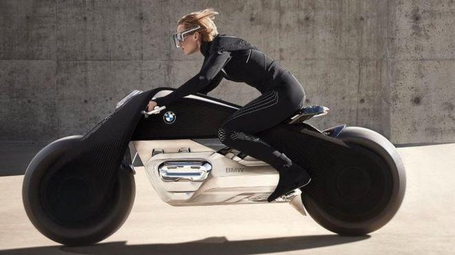 La moto del futuro de BMW