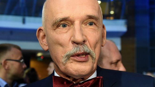 Janusz Korwin-Mikke MEP, Oct 2015
