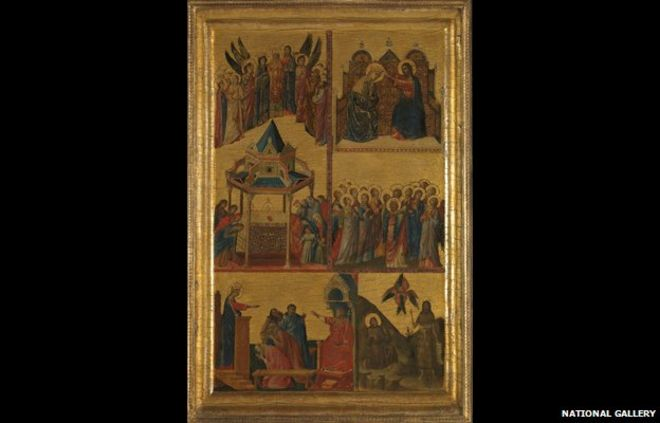 Scenes From the Lives of the Virgin and Other Saints