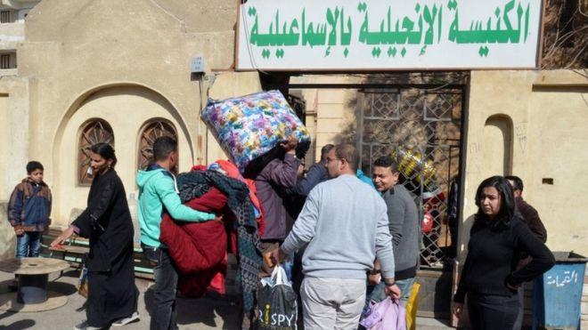 """نزوح أقباط من شمال سيناء إثر تهديدات """"إرهابية"""" في الصحف المصرية"""