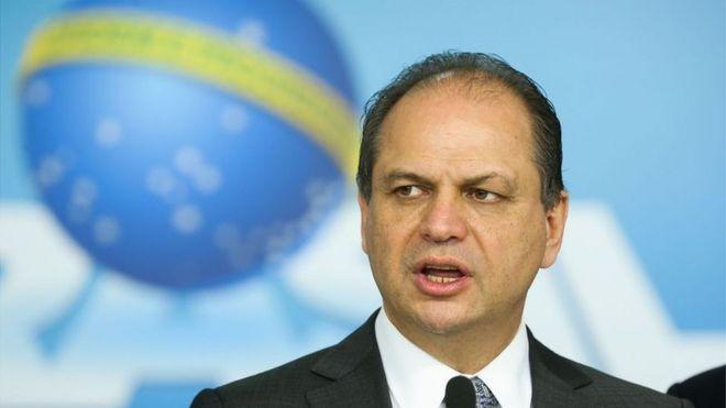 Ricardo Barros durante evento em Brasília