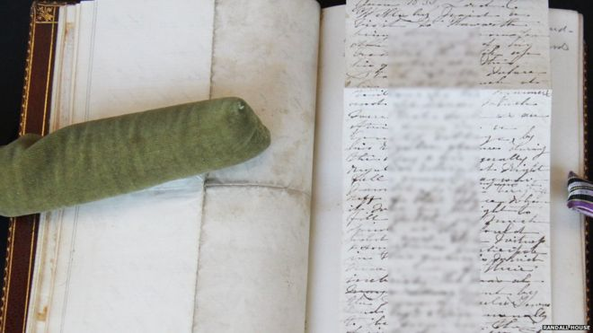 Image of fragment written by Charlotte Bronte
