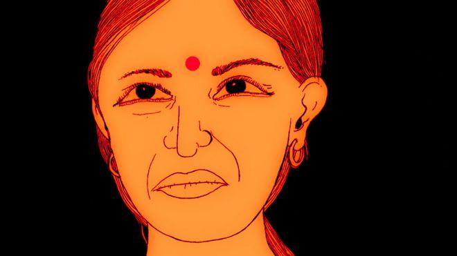 Ilustração de Geeta