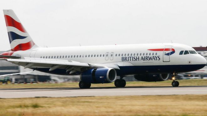 A British Airways A320