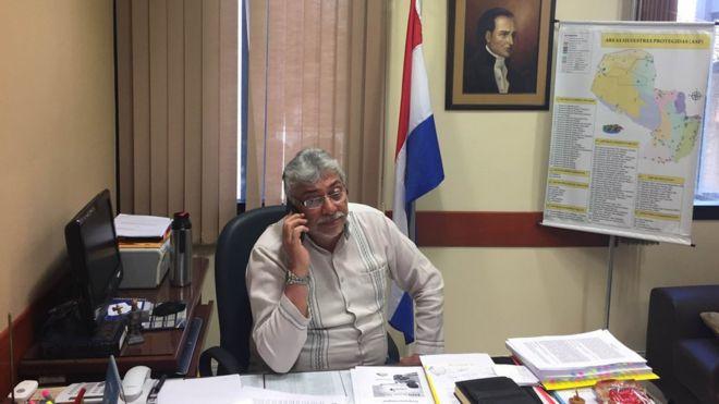Ex-presidente Fernando Lugo