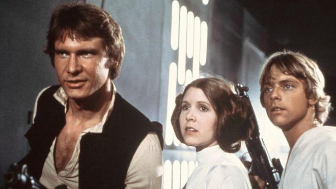"""Muere Carrie Fisher, la actriz que encarnó a la Princesa Leia de """"Star Wars"""""""
