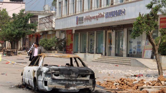 缅甸果敢冲突一名中国老师「中弹身亡」