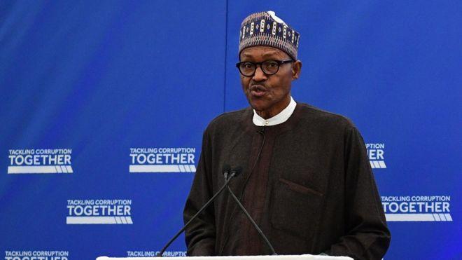 President Buhari speaks at anti-corruption summit