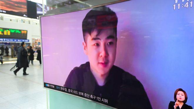 一段自称是金正男儿子拍摄的视频被一个自称拯救了金正男家人的组织上传到网上