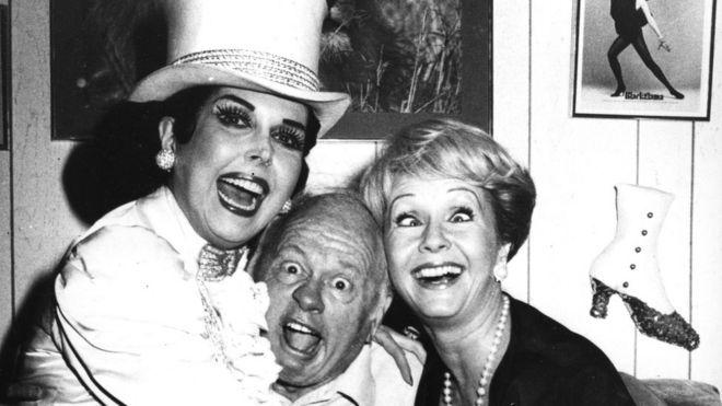 Ann Miller, Mickey Rooney e Debbie Reynolds
