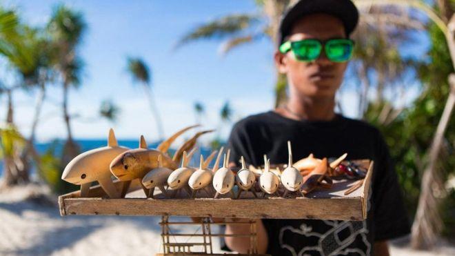 Vendedor em Malapascua