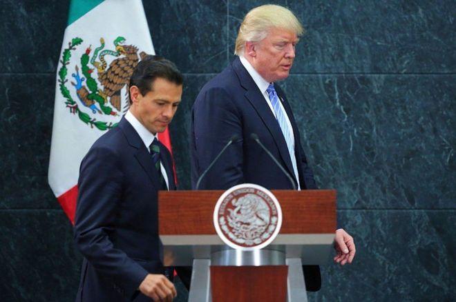 Rais Pena Nieto na Rais Trump