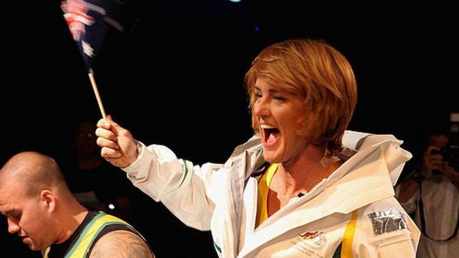 Paralympian Liesl Tesch
