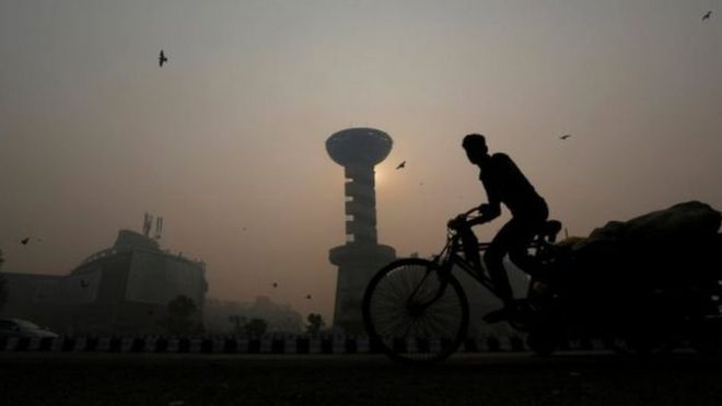 Delhi, a city of 16 million people, is the 11th most polluted city in the world, according to a report released by the WHO in May. On the days before the festival, the air quality there was already bad.