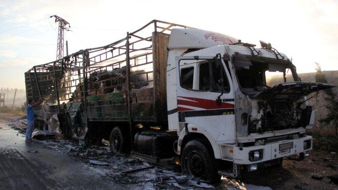 Гуманитарный конвой в Сирии