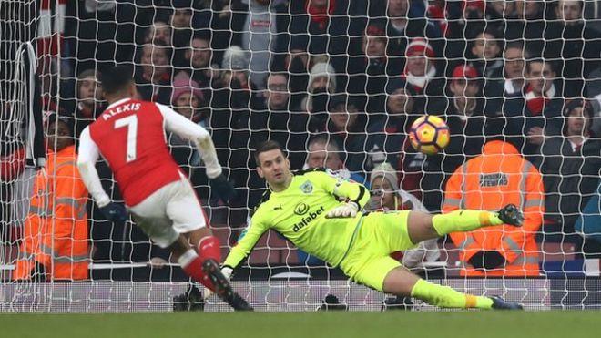 Alexis Sanchez aliifungia Arsenal bao la pili