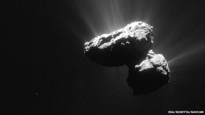 Cometa 67P por Rosetta-Philae