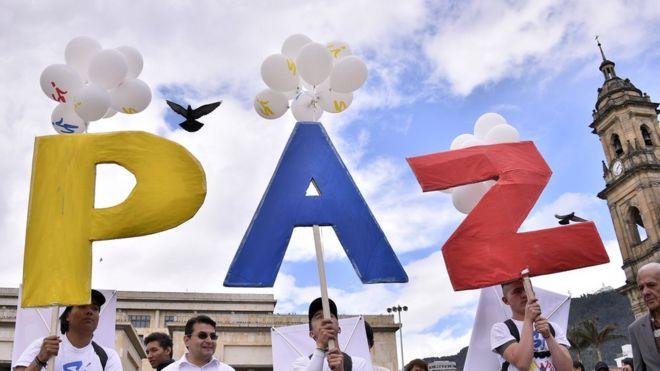 Resultado de imagen de plebiscito colombia