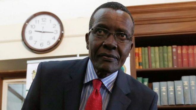 Jaji wa mahakama kuu jaji David Maraga ndio jaji mkuu mpya wa Kenya