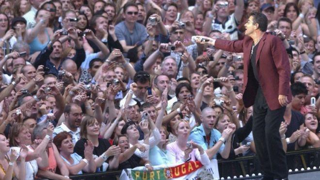 Джордж Майкл на концерте