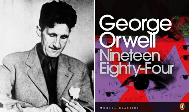 Dystopia      essay introduction Home Big Brother Is Watching A Remake for George Orwell     s