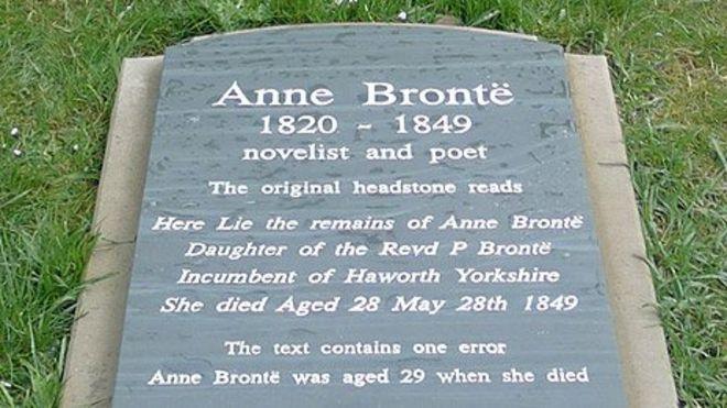 Anne Bronte scarborough