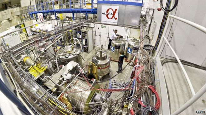 Image result for picture of cern alpha experiment