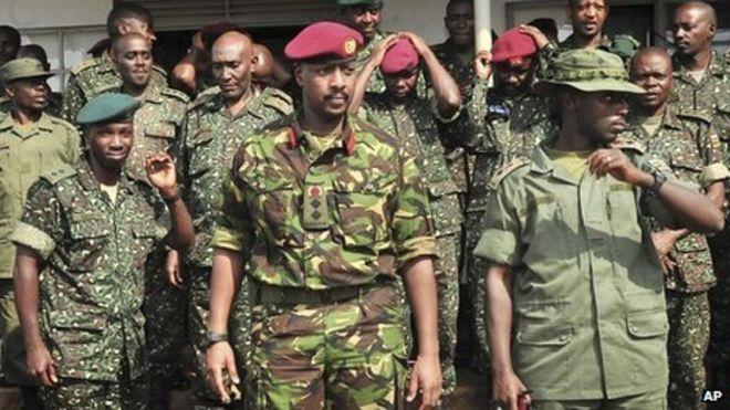 Muhoozi Kainerugaba Uganda39s Muhoozi Kainerugaba denies 39monarchy39 plan BBC News