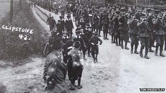 Ww1 Training Camps Train at Clipstone Camp in