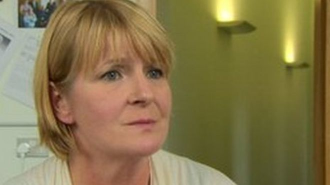Image caption Kathryn Stone is leaving her job to take up a post in England. - _73142223_kathrynstone