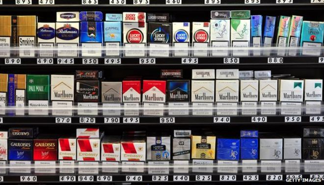 Cigarette price in England duty free