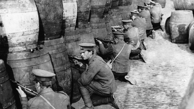 Vacation in Dublin Ireland 1916 Rising Walking Tour