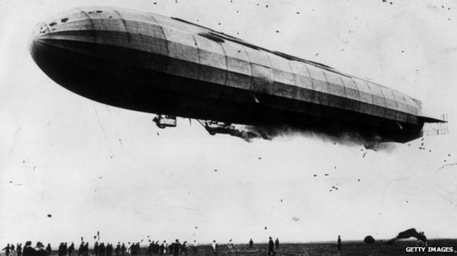 weapons of war zepplin By the outbreak of war in august 1914 zeppelin had started constructing the first m class airships, which had a length of 158 m (518 ft), with a volume of 22,500 cubic metres (794,500 cu ft) and a useful load of 9,100 kilograms (20,100 lb).