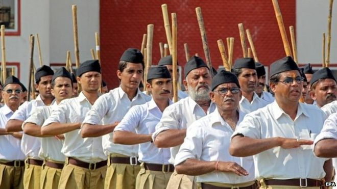 The Hindu hardline RSS who see Modi as their own