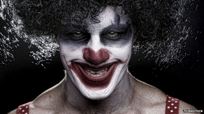 Scary Clown Pictures With Quotes of Scary Clowns is