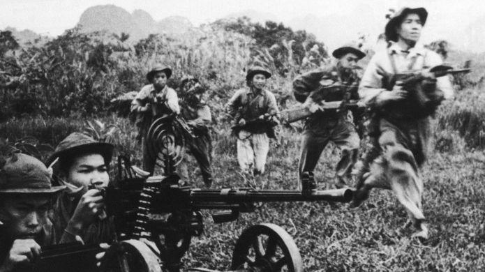 Quân Bắc Việt và Mặt trận miền Nam Việt Nam - hình tư liệu