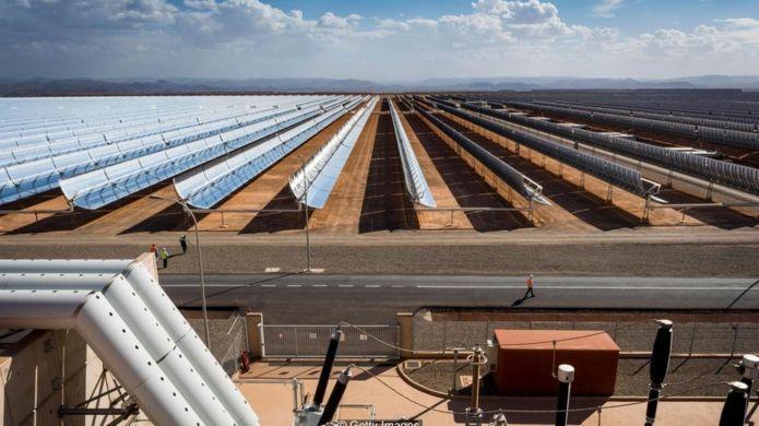 非洲豐富的光資源或使其成為世界其他地區的能源供應者(圖片來源:Getty Images)
