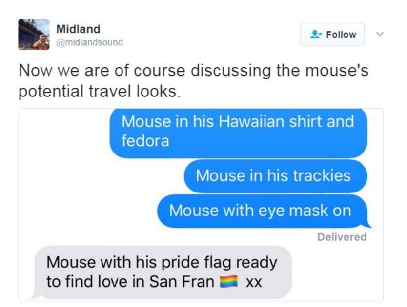 Встолице Англии мышь сорвала рейс вСан-Франциско