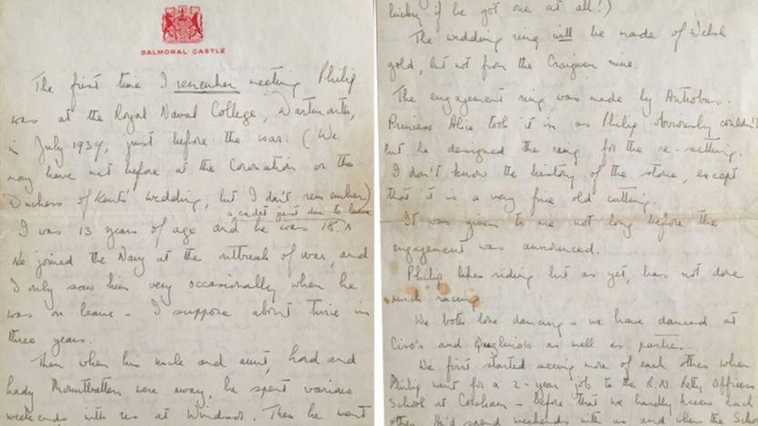 письмо Елизаветы к Бетти Шоу