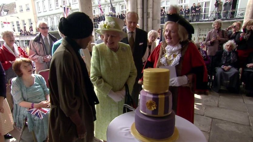 торт для королевы