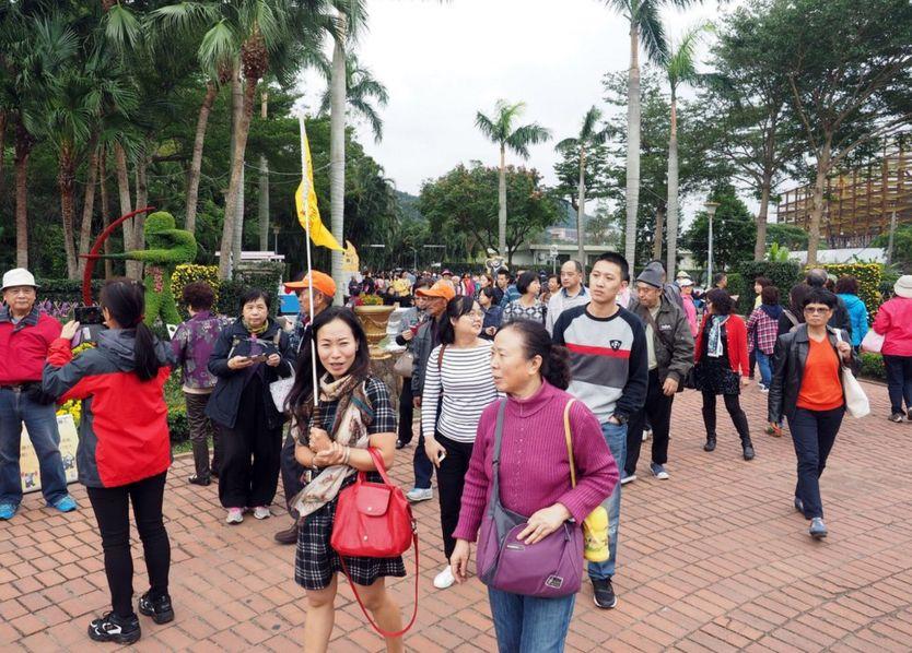 Có tin nói Trung Quốc giảm số du khách đến Đài Loan sau khi bà Thái Anh Văn làm tổng thống
