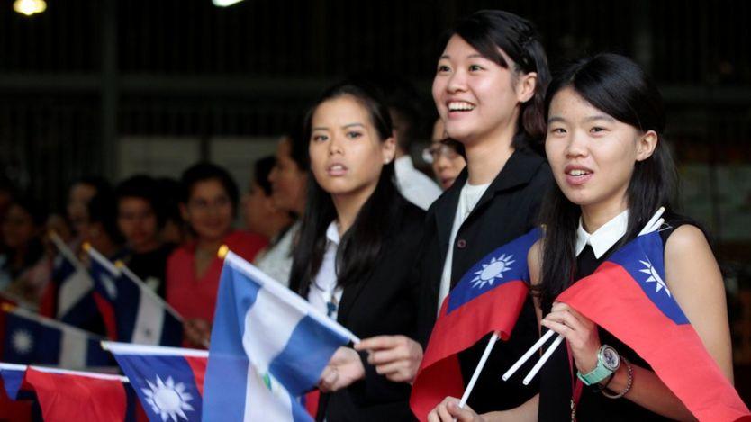 Delegación taiwanesa.