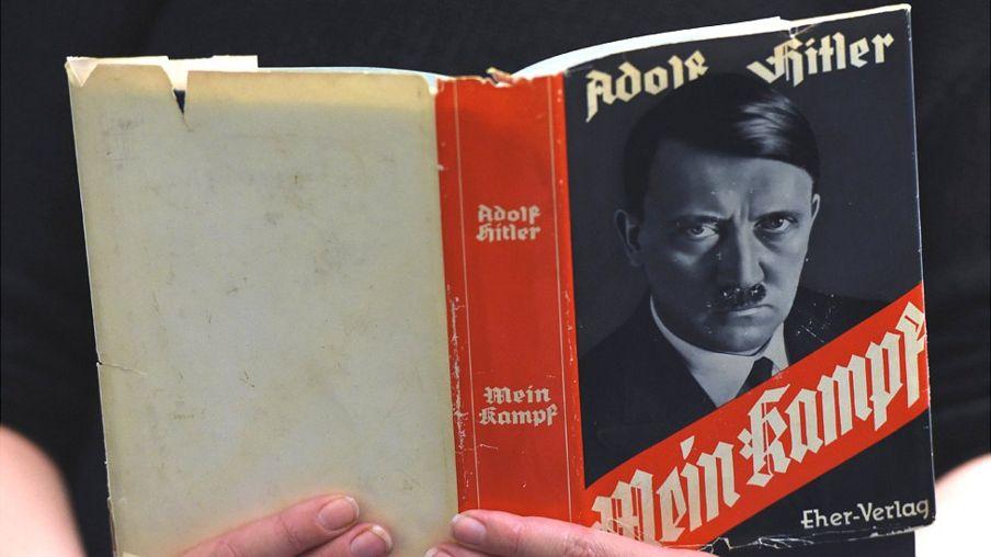 Ấn bản gốc cuốn Mein Kampf, phát hành ngày 7 tháng 12 năm 2015
