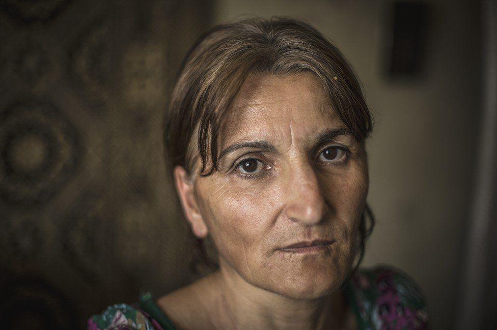 "Matiko Pirtskhulava, aged 46, says: ""I do not feel like I am a part of [Georgian] society"""