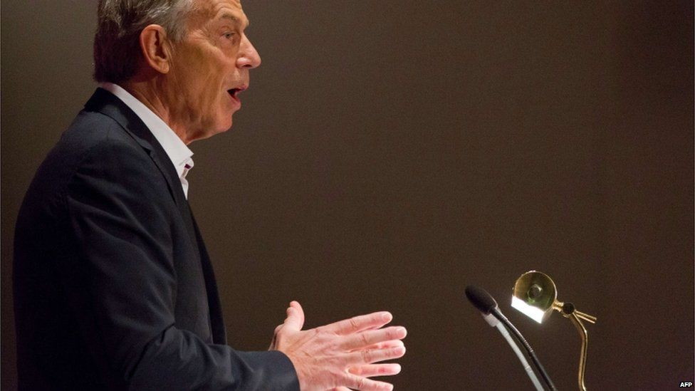 Labour must come to its senses - Blair...
