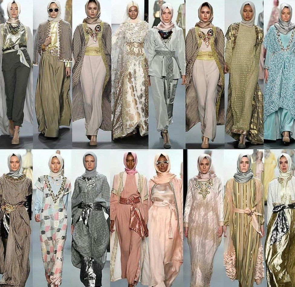Fashion Designer Hijab Fitri Aulia An Indonesian Fashion