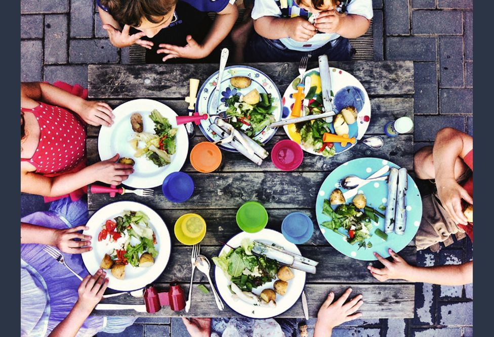 Kids' table - by Lucy Pope (UK)